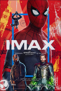 """Spider-Man: Far from Home (Sony, 2019). Rolled, Near Mint+. IMAX One Sheet (27"""" X 40"""") DS Advance. Action"""