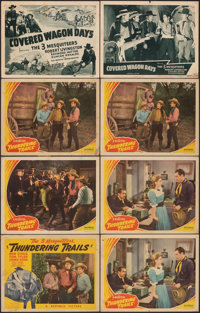 """Thundering Trails & Other Lot (Republic, 1943). Fine+. Title Lobby Cards (2) & Lobby Cards (14) (11"""" X 14&q..."""
