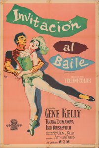 Invitation to the Dance & Other Lot (MGM, 1956). Folded, Overall: Fine/Very Fine. Argentinean One Sheets (2) (29&quo...