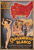 """Movie Posters:Exploitation, Traffic in Souls (Tamasa Distribution, 1937). Folded, Fine+. Argentinean One Sheet (29"""" X 43""""). Exploitation.. ..."""