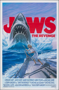 """Jaws: The Revenge & Other Lot (Universal, 1987). Folded, Very Fine+. One Sheets (2) (27"""" X 41""""). Thriller..."""