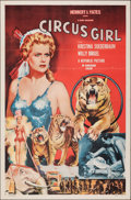 """Movie Posters:Adventure, Circus Girl (Republic, 1956). Flat Folded, Very Fine-. One Sheet (27"""" X 41""""). Adventure.. ..."""