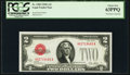 Small Size:Legal Tender Notes, Fr. 1502 $2 1928A Legal Tender Note. PCGS Choice New 63PPQ.. ...