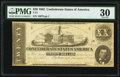 Confederate Notes:1862 Issues, T51 $20 1862 PF-11 Cr. 366 PMG Very Fine 30.. ...