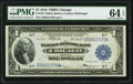 Fr. 729 $1 1918 Federal Reserve Bank Note PMG Choice Uncirculated 64 EPQ