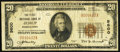 National Bank Notes:Pennsylvania, Jessup, PA - $20 1929 Ty. 1 The First National Bank Ch. # 9600 Very Good-Fine.. ...