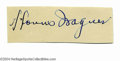 Autographs:Others, Honus Wagner Cut-Signature PSA DNA/GAI Authenticated. ...