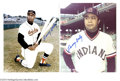 Autographs:Photos, Larry Doby Signed Photograph Collection (4). Four images ...