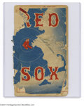 Autographs:Others, 1956 Boston Red Sox Game Program w/Ted Williams Signature ...