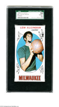 Basketball Cards:Singles (Pre-1970), 1969-70 Topps Lew Alcindor Rookie #25 SGC NM/MT+ 92. ...