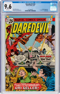 Daredevil #133 (Marvel, 1976) CGC NM+ 9.6 White pages
