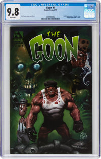 The Goon #1 (Avatar Press, 1999) CGC NM/MT 9.8 White pages