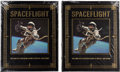 Explorers:Space Exploration, Buzz Aldrin Signed Leather-Bound Limited Edition Books (Five Copies, Still Sealed): Spaceflight...