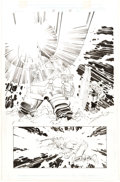 Original Comic Art:Panel Pages, John Romita Jr. and Dick Giordano Thor #25 Story Page 22 Original Art (Marvel, 2000)....