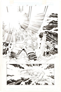 John Romita Jr. and Dick Giordano Thor #25 Story Page 22 Original Art (Marvel, 2000)