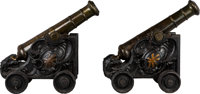 Pair of 18th Century Signal Cannons