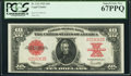 Fr. 123 $10 1923 Legal Tender PCGS Superb Gem New 67PPQ