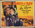 """Movie Posters:Western, Jesse James at Bay & Other Lot (Republic, 1941). Folded, Fine-. Half Sheets (2) (22"""" X 28"""") & One Sheet (27"""" X 41""""). Western... (Total: 3 Items)"""