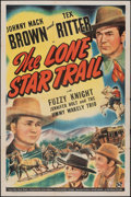 """Movie Posters:Western, The Lone Star Trail & Other Lot (Universal, 1943). Folded, Overall: Fine-. One Sheet (27"""" X 41"""") & Half Sheets (2). Western.... (Total: 3 Items)"""