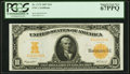 Fr. 1172 $10 1907 Gold Certificate PCGS Superb Gem New 67PPQ