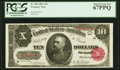 Fr. 369 $10 1891 Treasury Note PCGS Superb Gem New 67PPQ