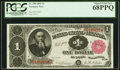 Large Size:Treasury Notes, Fr. 350 $1 1891 Treasury Note PCGS Superb Gem New 68PPQ.. ...