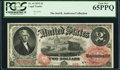 Fr. 44 $2 1875 Legal Tender PCGS Gem New 65PPQ