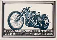 Soul Survivors/Box Tops at the Jimmerfield Legend (Family Dog, 1967). Rolled, Very Fine/Near Mint. Concert Poster (20&qu...