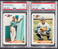 Baseball Cards:Sets, 1992 Bowman Baseball Complete Set (705) With PSA Mint 9 Rivera & Piazza Rookie Cards....