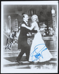 """Top Hat (1980s). Fine/Very Fine. Autographed Restrike Photo (8"""" X 10"""") with Certificate of Authenticity. Music..."""