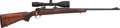 Long Guns:Bolt Action, Winchester Pre-64 Model 70 Bolt Action Rifle with Telescopic Sight.. ...