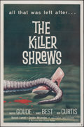 """Movie Posters:Science Fiction, The Killer Shrews (McLendon Radio Pictures, 1959). Folded, Very Fine-. One Sheet (27"""" X 41""""). Science Fiction.. ..."""