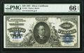 Large Size:Silver Certificates, Fr. 321 $20 1891 Silver Certificate PMG Gem Uncirculated 66 EPQ.. ...