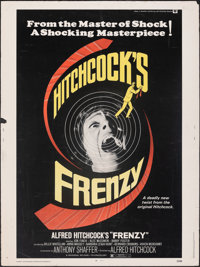 """Frenzy & Other Lot (Universal, 1972). Rolled, Overall: Fine/Very Fine. Poster (30"""" X 40"""") & Half Sheet..."""