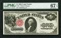 Fr. 35 $1 1880 Legal Tender PMG Superb Gem Unc 67 EPQ