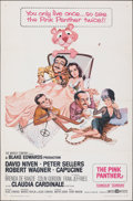 """Movie Posters:Comedy, The Pink Panther (United Artists, 1964). Folded, Fine+. One Sheet (27"""" X 41""""). Jack Rickard Artwork. Comedy.. ..."""