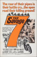 """Movie Posters:Exploitation, The Savage Seven & Other Lot (American International, 1968). Folded, Overall: Very Fine-. One Sheets (2) (27"""" X 41""""). Exploi... (Total: 2 Items)"""