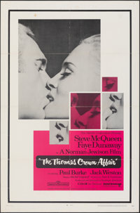 """The Thomas Crown Affair (United Artists, 1968). Folded, Fine/Very Fine. One Sheet (27"""" X 41""""). Crime"""