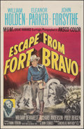 "Movie Posters:Western, Escape from Fort Bravo & Other Lot (MGM, 1953). Folded, Fine/Very Fine. One Sheets (2) (27"" X 41""). Western.. ... (Total: 2 Items)"