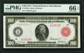 Large Size:Federal Reserve Notes, Fr. 1072a $100 1914 Red Seal Federal Reserve Note PMG Gem Uncirculated 66 EPQ.. ...