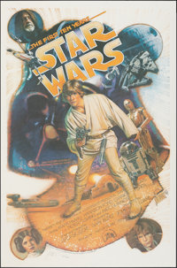 Star Wars: The First Ten Years (Killian Enterprises, 1987). Rolled, Near Mint. Autographed and Hand Numbered Limited Edi...