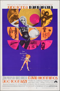"Barbarella (Paramount, 1968). Folded, Very Fine-. One Sheet (27"" X 41"") Style B, Robert McGinnis Artwork. Scie..."