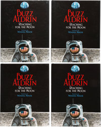 Buzz Aldrin Signed Books (Twenty Nine Copies): Reaching For The Moon, Originally from His Personal Collection