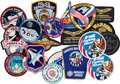 Explorers:Space Exploration, Buzz Aldrin: Collection of Seventeen Different Patches Originally from His Personal Collection. ...