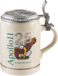 Explorers:Space Exploration, Apollo 11: Limited Edition 25th Anniversary Tankard Originally from the Personal Collection of Buzz Aldrin. ...