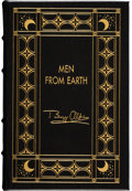 Explorers:Space Exploration, Buzz Aldrin Author's Edition (One of Fifty Copies) Book: Men From Earth, Originally from His Personal Collection....