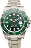 Timepieces:Wristwatch, Rolex, Oyster Perpetual Date Submariner, Ref. 116610LV, Stainless Steel and Ceramic, Circa 2015. ...