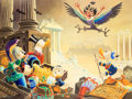 Memorabilia:Disney, Carl Barks Menace out of the Myths Signed Limited Edition Miniature Lithograph Print #174/595 (Another Rainbow, 19...