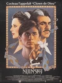 """Nijinsky & Other Lot (Paramount, 1980). Folded, Overall: Fine/Very Fine. Full-Bleed French Grande (46"""" X 1.253&..."""