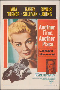 """Another Time, Another Place & Other Lot (Paramount, 1958). Folded, Fine/Very Fine. One Sheets (2) (27"""" X 41&quo..."""